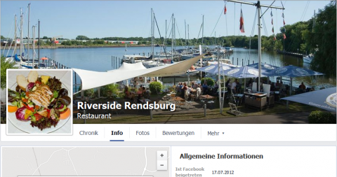 Restaurant in Rendsburg: Riverside Rendsburg in Rendsburg