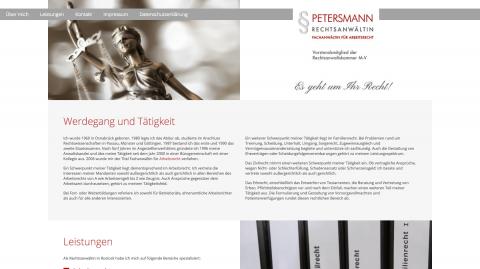 Beratung zum Erbrecht von Rechtsanwältin Christa Petersmann in Rostock in Rostock