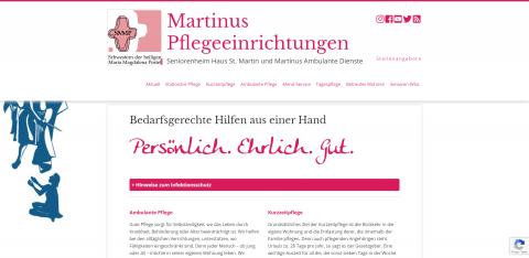 Ihr Pflegedienst in Herten: Martinus Ambulante Dienste in Herten