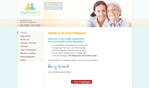 Pflegedienst im Großraum Nürnberg: PflegePartnerPlus in Auerbach