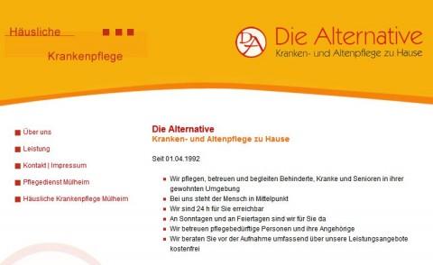 Umfangreicher Pflegedienst: Die Alternative GmbH in Mülheim in Mülheim