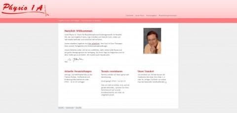 Physiotherapie in der Physio-1A-Praxis in Konstanz in Konstanz