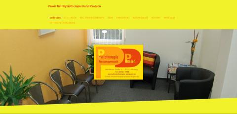Ihre Physiotherapie in Arnsberg-Neheim: Praxis für Krankengymnastik Paassen in Arnsberg-Neheim