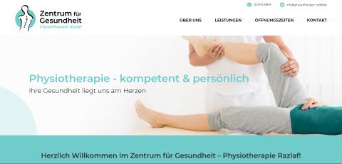 Ihre Krankengymnastik in Hennef: Zentrum für Gesundheit - Physiotherapie Waldemar Razlaf in Hennef