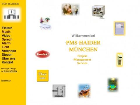 PMS Haider Projekt Management Service in München in München