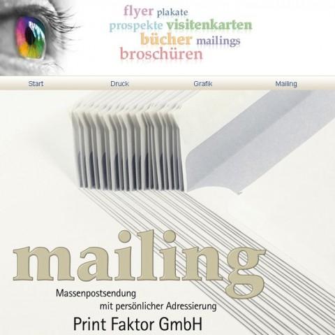 Digitaldruck bei der Print Faktor GmbH in Bonn in Bonn