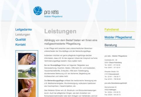 pro retis, mobiler Pflegedienst und Fahrdienst in Hattingen in Hattingen