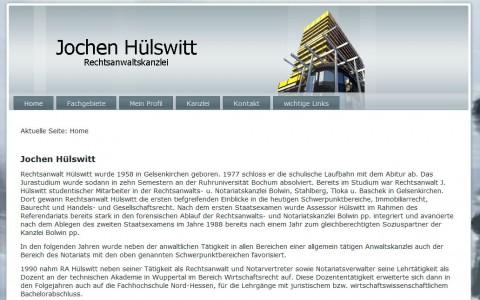 Immobilienrecht: Rechtsanwaltskanzlei Jochen Hülswitt in Gelsenkirchen in Gelsenkirchen