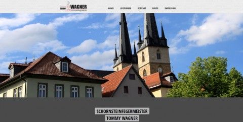 Schornsteinfeger in der Region Saalfeld: Tommy Wagner in Saalfeld/Saale