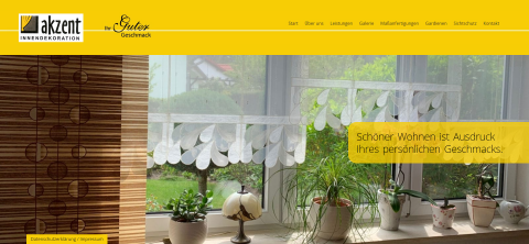 Wunderschöne Gardinen individuell gefertigt – Akzent Innendekoration in Cottbus