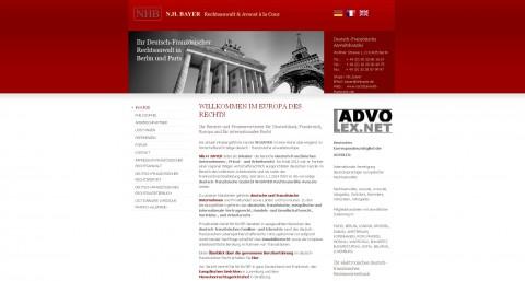 NH BAYER Deutsch-Französische Anwaltskanzlei in Berlin in Berlin