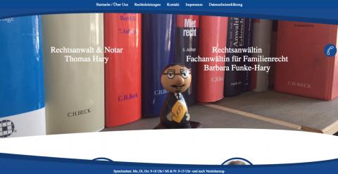 Rechtsanwältin in Berlin: Fachanwältin für Familienrecht Barbara Funke Hary  in Berlin