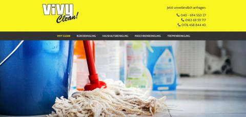 Ihre Unterhaltsreinigung in Hamburg: Vivy Clean in Hamburg