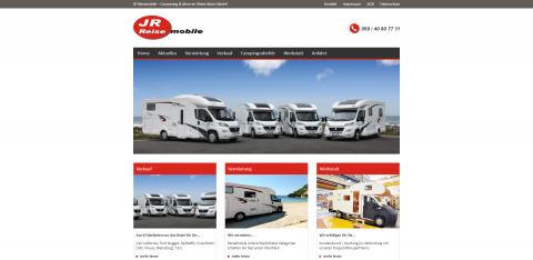 Zuverlässige Reisemobilvermietung in Frankfurt: JR Reisemobile in Maintal