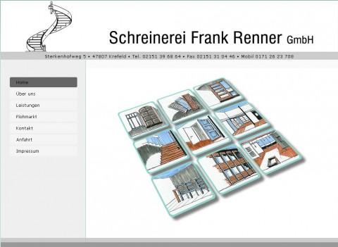 Schreinerei Frank Renner GmbH in Krefeld in Krefeld