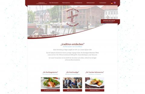 Gut essen in Glückstadt – Das Restaurant zur alten Mühle in Glückstadt
