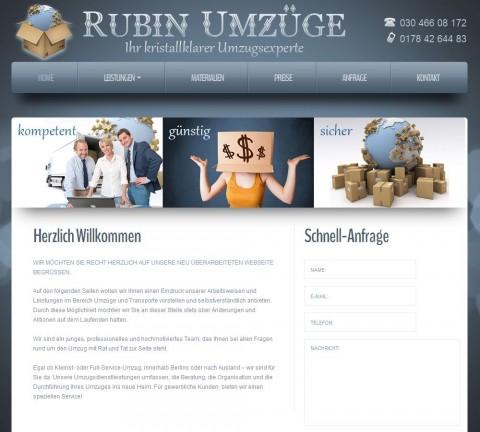 Rubin Umzüge in Berlin in Berlin