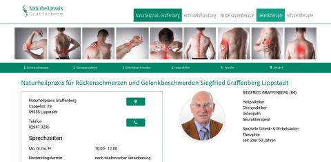 Ganzheitlich gegen Rückenbeschwerden: Heilpraktiker Siegfried Graffenberg in Lippstadt in Lippstadt