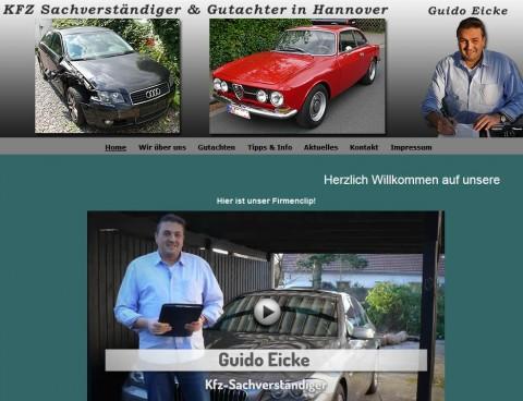 Ihr Kfz-Gutachter Guido Eicke in Hannover in Hannover-Bothfeld