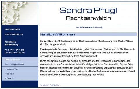 Rechtsanwalt Prügl in Mainburg in Mainburg