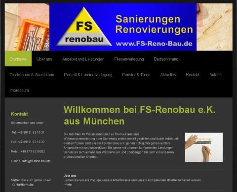 FS-Renobau e.K. in München in München