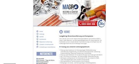Ihre Experten für Heizungen in Berlin: MAGRO Heizung & Sanitär Notdienste-Wartung & Reparatur in Ahrensfelde