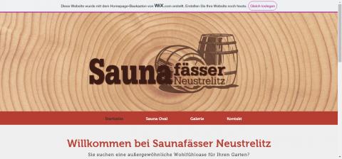Fasssauna Neustrelitz - der Partner für außergewöhnliche Wohlfühloasen in 17235
