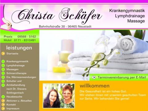 Krankengymnastik Christa Schäfer in Neustadt bei Coburg in Neustadt bei Coburg