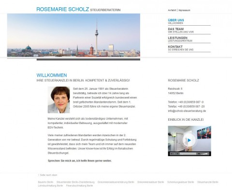 Steuerberaterin in Berlin: Rosemarie Scholz in Berlin