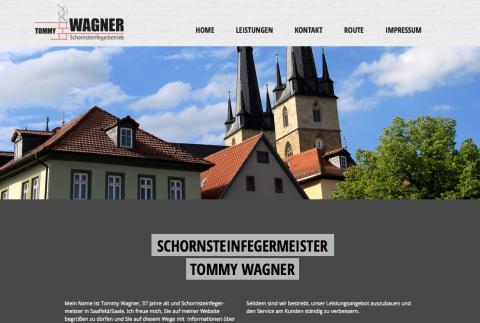 Schornsteinfegermeister Tommy Wagner in Saalfeld in Saalfeld/Saale