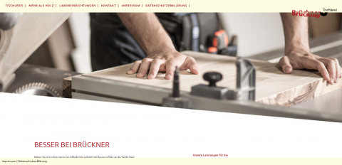 Wertvolles Tischlerhandwerk bei der Schreinerei Brückner in Neuss in Neuss