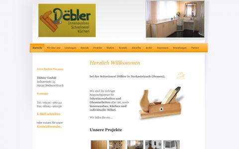 Erfahrene Schreinerei in Neckarsteinach bei Heidelberg Döbler GmbH  in Neckarsteinach