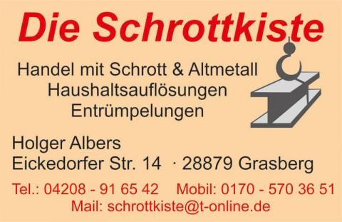 Entrümpelung in Bremen: Dienstleistungen Albers in Grasberg in Grasberg