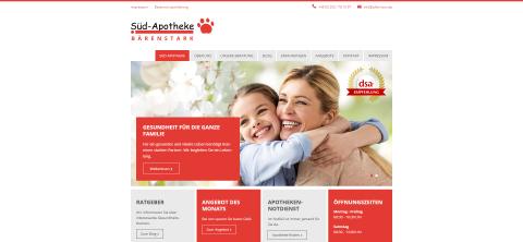 Ihr Partner für Schüßler-Salze: Süd Apotheke in Duisburg