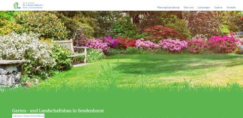 Ihr Partner für einen gepflegten Garten: Garten- und Landschaftsbau M. Schulze Balhorn in Sendenhorst