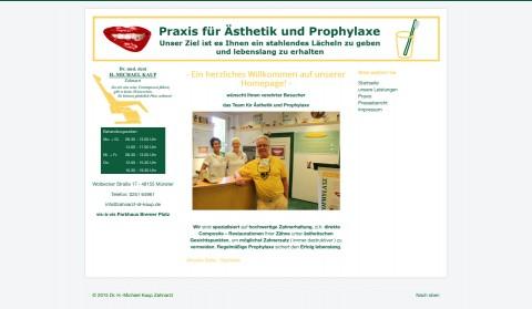 Zahnerhalt in der Praxis für Ästhetik und Prophylaxe in Münster in Münster