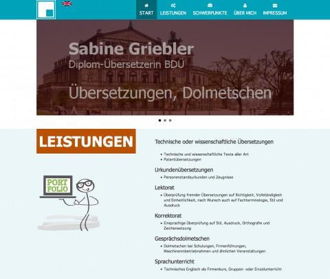 Übersetzungen in Dresden: Sabine Griebler in Dresden