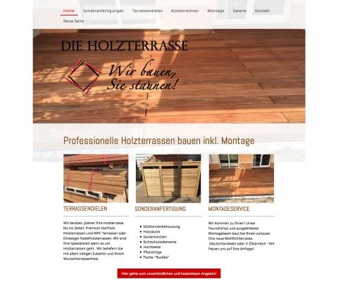 """Professioneller Terrassenbau in Neunkirchen: """"dieHolzterrasse.com"""" Sven Heieck in Neunkirchen am Brand"""