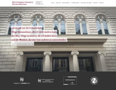 Rechtsanwalt für Erbrecht in Bonn: Anwaltskanzlei Volker Betzing  in Bonn