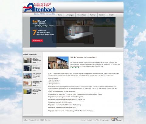 Heizung und Sanitär in Mannheim: Gebr. Altenbach GmbH in Mannheim