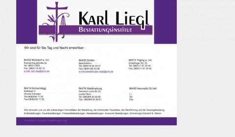 Bestattungsinstitut Liegl in Mühldorf am Inn in Mühldorf a. Inn