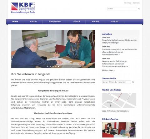 Existenzgründungsberatung im Raum Osnabrück: KBF Steuerberatungsgesellschaft mbH in Lengerich