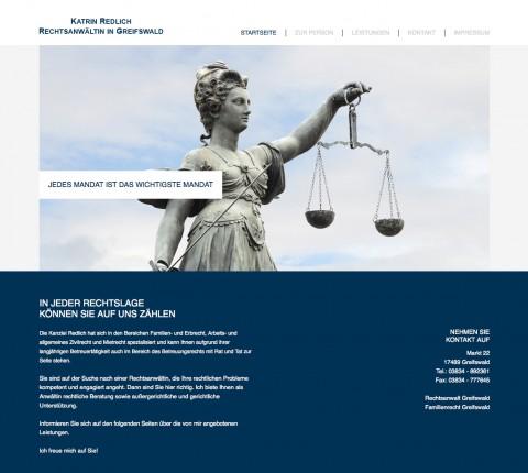 Rechtsanwaltskanzlei Katrin Redlich in Greifswald in Greifswald