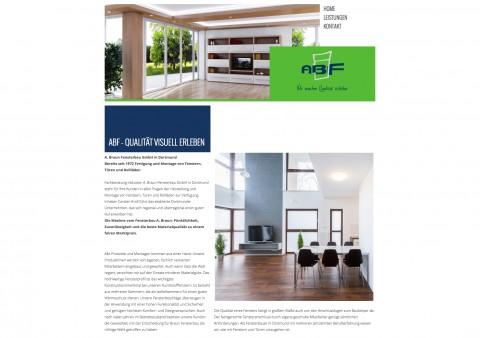 A. Braun Fensterbau GmbH in Dortmund in Dortmund
