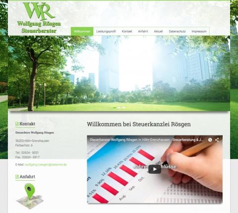 Steuerberater in Höhr-Grenzhausen: Steuerbüro Wolfgang Rösgen in Höhr-Grenzhausen