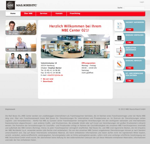 Druckerei in Hamburg: MAIL BOXES ETC.  in Hamburg