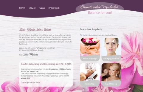 Das professionelle Kosmetikstudio: Cosmeticsalon Michaelis in Mönchengladbach in Mönchengladbach