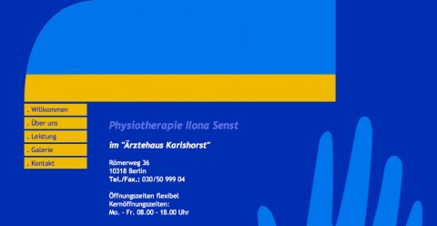 Physiotherapie in Berlin-Karlshorst: Physiotherapie Ilona Senst in Berlin-Karlshorst