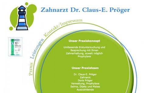 Zahnarzt Dr. Claus-E. Pröger in München in München
