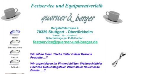 Querner und Berger: Geschirrverleih in der Region Stuttgart   in Stuttgart